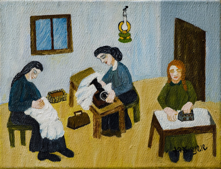 <b>The Three Dressmakers</b> - In the Yiddish folk song the dressmaker says the she