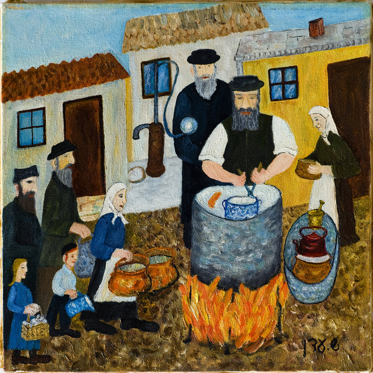 <b>Preparations for Passover</b>